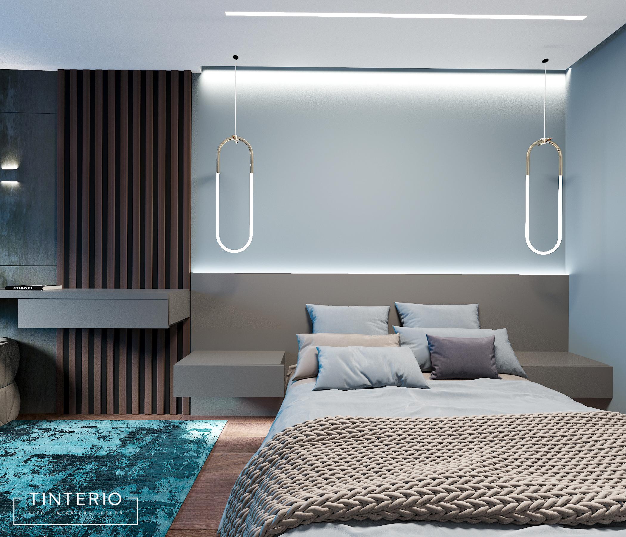 дизайн проект спальня1